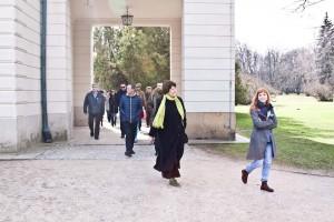 Spacer do Łazienek Królewskich