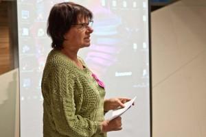 Moderatorzy omawiają wnioski ze spotkań uczestników Forum ze stanami szkolnymi